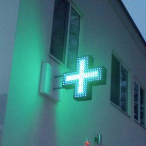 светодиодный крест